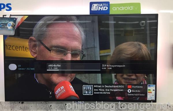 Philips: DVB-T2 mit HEVC auf xxPUS7170