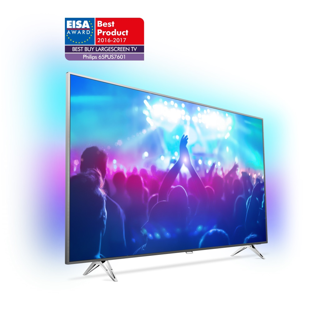 Philips 2016/17: EISA EUROPEAN BEST BUY LARGE SCREEN TV - 65PUS7601