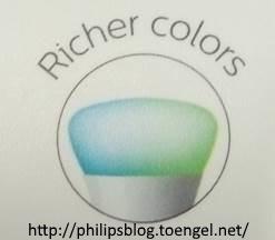 Philips HUE: Richer Colors Logo