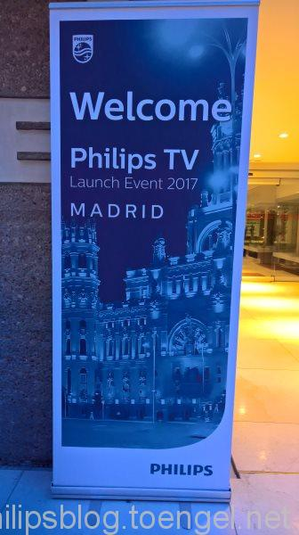 Philips 2017: Philips TV Launch Event Madrid