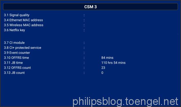 Philips OLED CSM: OFFRS und JB
