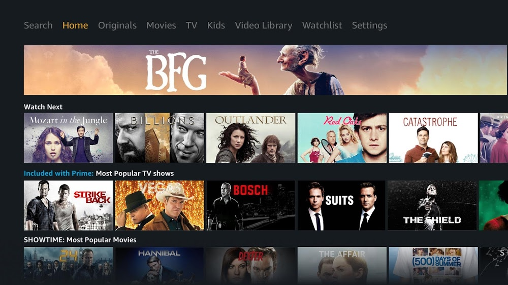 Amazon Prime Video App aus Google Play jetzt Philips-TV-kompatibel