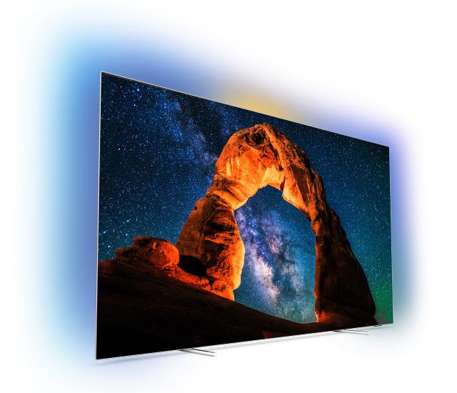 Philips 2018: Der 55OLED803 und 65OLED803 OLED Ultra HD TV mit Android TV
