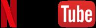 Netflix and YouTube Logo