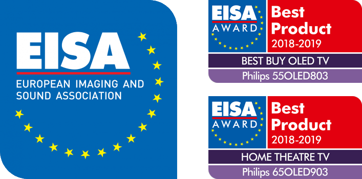 Philips: EISA Award Winner 2018-2019 (55OLED803, 65OLED903)