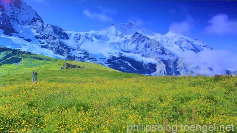 Philips P5: HDR-Upscaling