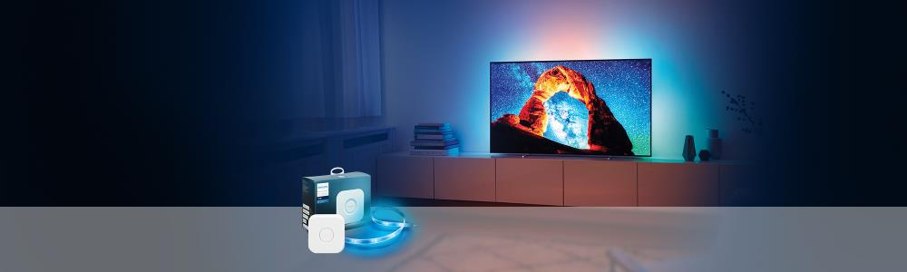 Philips Schweiz: Aktion OLED803 + Philips Hue LightStripe Plus + Bridge