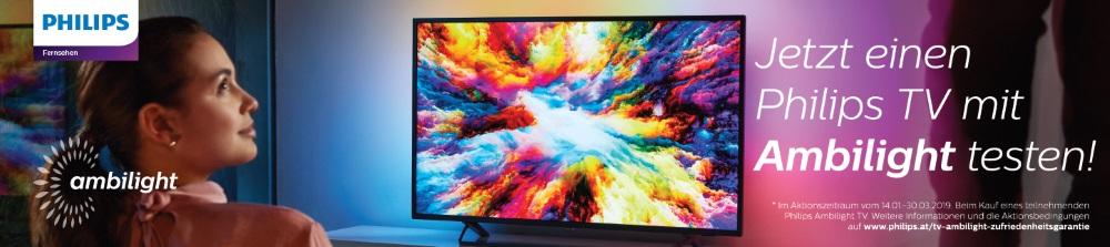 Philips 201: Ambilight TV Zufriedenheitsaktion