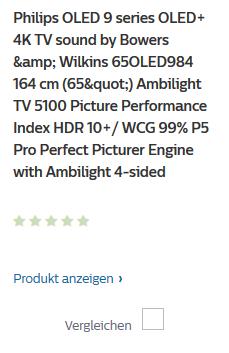 Philips 2019: 65OLED984 mit Ambilight 4