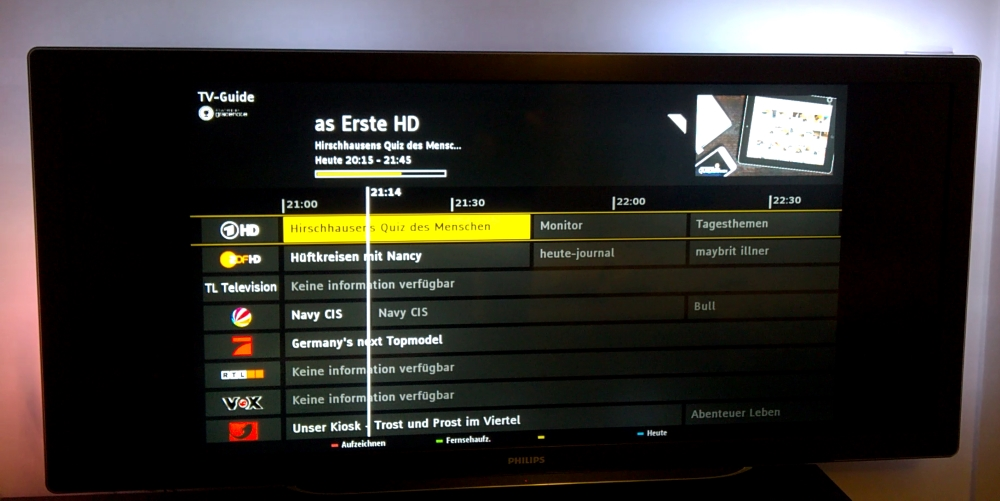 Dear Philips… When do you plan to fix the IP-EPG for older TVs?