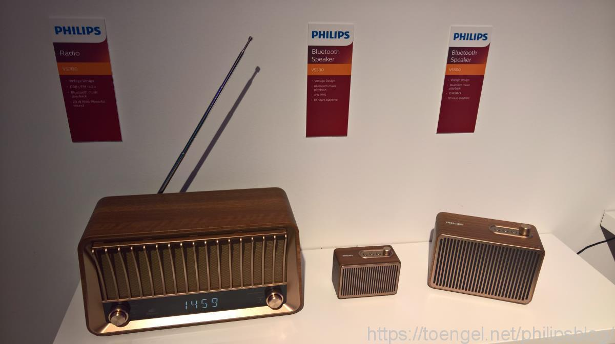 Philips Audio: Vintage Speaker - TAVS700, TAVS500 und TAVS300
