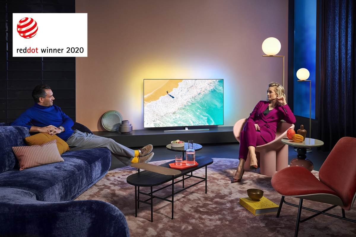 Philips: RedDot Design Award Winner 2020 - OLED855