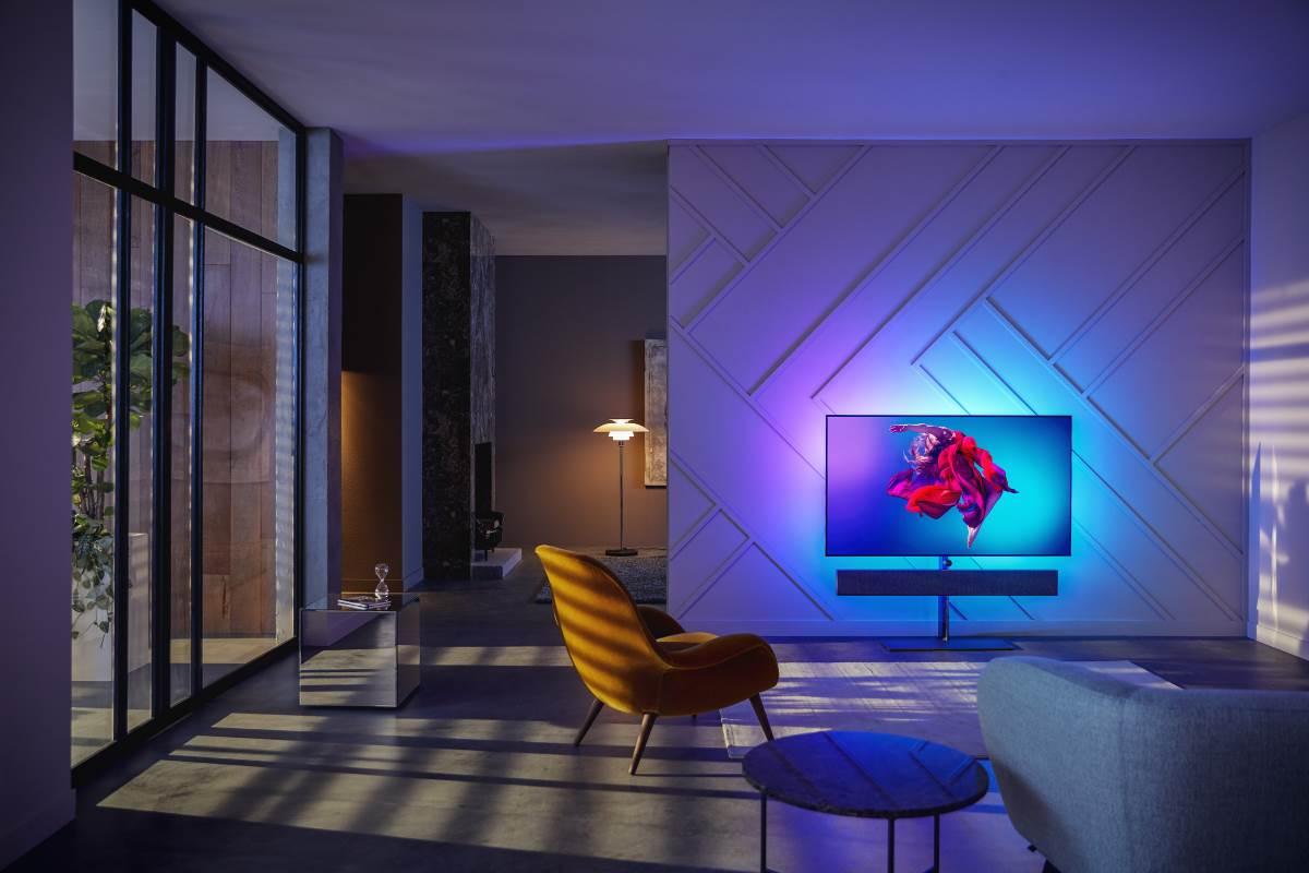 Philips 2019: 65OLED984 OLED+ mit Sound von Bowers & Wilkins