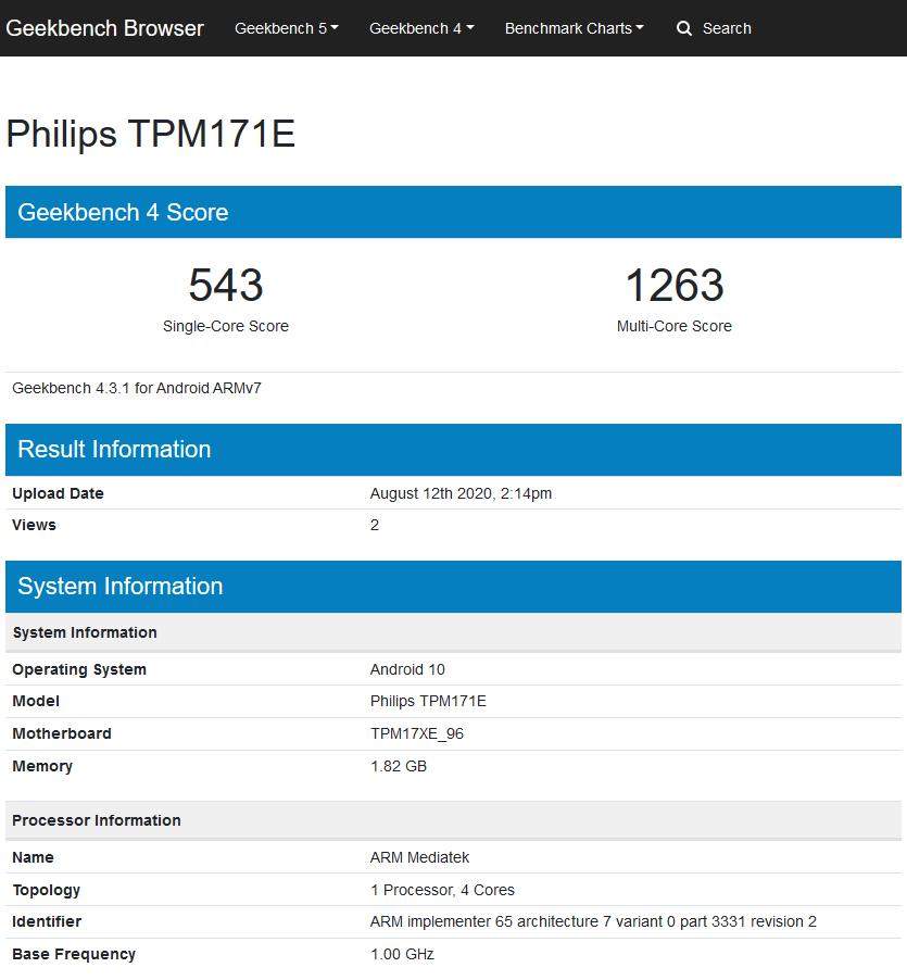 Philips 2017/2018: Android TV 10 auf TPM171E-Plattform