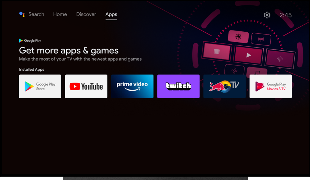 Android TV: New Launcher - Apps