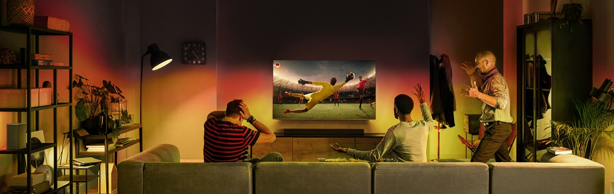 Philips Ambilight TV Sofortbonus-Aktion 2021 (EM-Aktion)