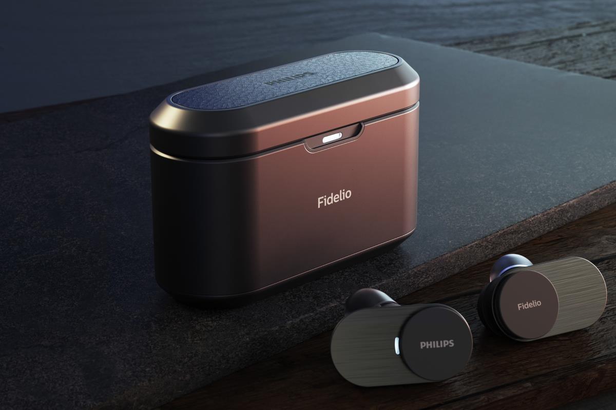Philips Fidelio T1 (T1BK/00 Schwarz, T1WT/00 Silber)