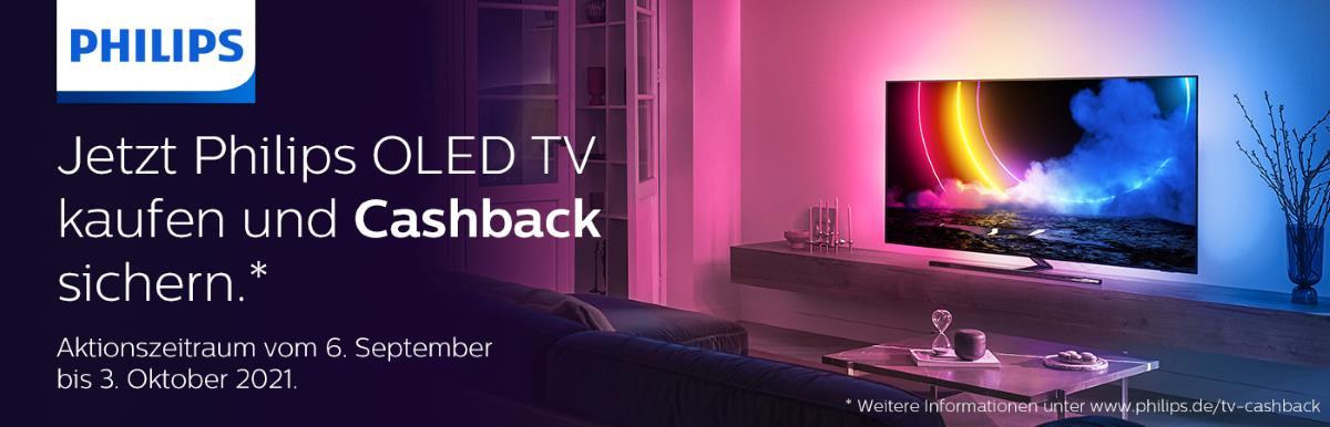 Philips OLED TV Cashback 2021